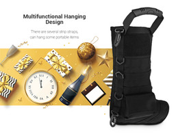 Magazine duMp pouch online shopping - Tactical Molle Christmas Stocking Bag Dump Drop Pouch Utility Storage Bag Combat Hunting Magazine Pouches Sock Bag Gift Pouch