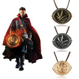 $enCountryForm.capitalKeyWord Australia - 20PCS LOT Wholesale Doctor Strange Necklaces Marvel Necklace Superhero Pendant Choker Nice Women&Men Accessories Gifts