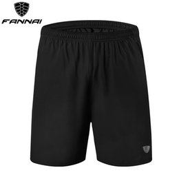 Wholesale shorts hombre pantalon for sale – plus size FANNAI Gym Shorts Mens Running Shorts Men Quick Dry Sport Men Fitness Ropa Pantalon Corto Deporte Hombre
