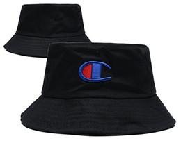 Beach Visors For Women UK - New Hot Champion Bucket Hat For Men Women Foldable Caps Black Fisherman Beach Sun Visor Sale Camping Fishing Hunting 01