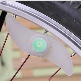 $enCountryForm.capitalKeyWord NZ - New 1PC Bicycle Light Bike Lamp LED Tyre Tire Valve Caps Wheel spokes Cycling Lanterns For Bicycle Accessories Red Blue Green
