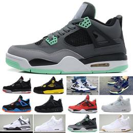 differently 45bd6 fa510 Nike Air Jordan 1 4 6 11 12 13 Retro 4 CACTUS JACK Travis Scotts x 4s  Houston Oiler White Cement Raptors KAWS IV Scarpe da basket uomo Puro SOLDO  Stock ...