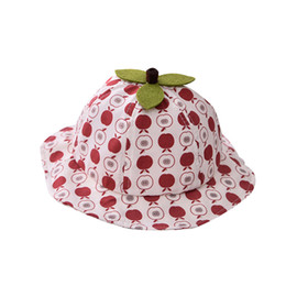 $enCountryForm.capitalKeyWord UK - ARLONEET Baby Toddler Boys Girls Summer Baby cartoon fruit print sun hat fisherman hat Infant Printing Shade Cap W0520