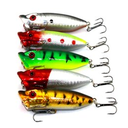 $enCountryForm.capitalKeyWord Australia - 5pcs Box 6.5cm 12g Top water Fishing Lure Swim Wobbler Crankbait Popper Crank Bait Double Treble Hooks Sea Fishing Tackle Kit Set