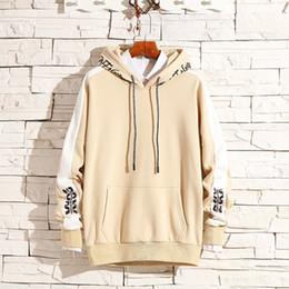 $enCountryForm.capitalKeyWord NZ - Fashion Letter Printed Hoodies Women Men Long Sleeve Hooded Sweatshirts 2019 Japan Style Hip Hop Streetwear Hoodies