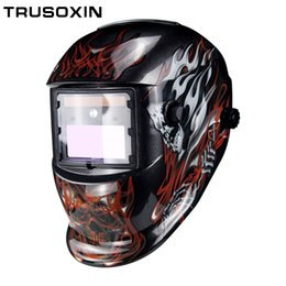 $enCountryForm.capitalKeyWord Australia - LED Light Solar Auto Darkening Electric Wlding Mask Helmet Welder Cap Welding Lens Eyes Mask for Welding Machine