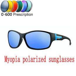 05be3cbf4e 2019 Custom Made Myopia Minus Prescription Polarized Lens Sunglasses Retro  High Quality Shield Sunglass Goggles UV400 FML