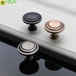 Handles For Kitchen Drawers Australia - Retro Kitchen Knobs 30mm Cupboard Door Handles Zinc Alloy Vintage Wardrobe For Furniture Handle Drawer Cabinet Pulls Accessories