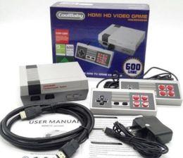 HDMI Mini Classique Consoles De Jeux TV CoolBaby 600 Modèle Vidéo Joueur De Jeux Pour 600 NES HD Console de Jeux Anniversaire De Noël Cadeau De Noël vente chaude