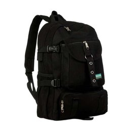 Arcrea hombro Correa cremallera bolso casual mochila escuela bolso cierre lona montañismo bolso de hombro casual venda por atacado