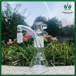 Discount dab tubes - new glass ash catcher for glass water pipes straight tube bong reclaim ashcatcher 18mm ash catcher bong heady glass dab