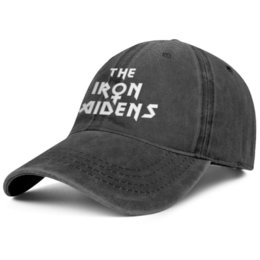 $enCountryForm.capitalKeyWord Australia - The Iron Maiden 80s black mens and womens baseball denim cap cool designer custom blank vintage personalized best classic denim hats