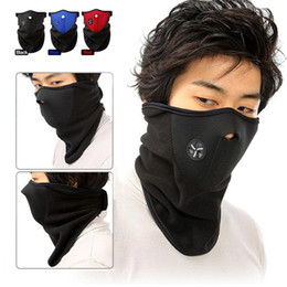 neoprene face mask ski snowboard NZ - hot Neoprene Neck Warm Half Face Mask Winter Veil Windproof For Sport Bike Bicycle Motorcycle Ski Snowboard Outdoor mask free shipping