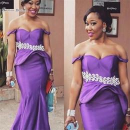 $enCountryForm.capitalKeyWord Canada - 2019 Purple Mermaid Off Shoulder Prom Dress Saudi Arabia Party Dresses Satin Prom Gowns Hot Sales