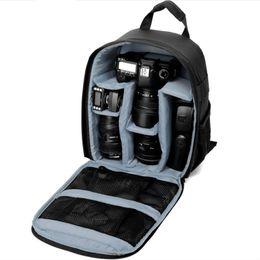 Toptan satış Çok Fonksiyonlu Kameralar Sırt Çantası Videolar Dijital DSLR Çanta Su Geçirmezler Açık Kamera Fotoğraf Çantası Kılıf Nikon / Canon / DSLR için
