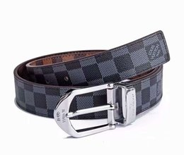 genuine leather woman cummerbund UK - High quality brand designer belts men Jeans belts Cummerbund belts For men Women Metal Buckle