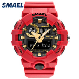$enCountryForm.capitalKeyWord Australia - SMAEL Brand Hot Men Watches Red Style New Sport Watch Quartz 50Meters Waterproof Relogio masculino erkek saat Men Gift Clock