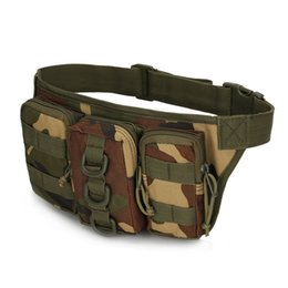 $enCountryForm.capitalKeyWord UK - Multi function Outdoor Molle Waterproof Cycling Pocket Waist Bag Pack Military Tactical Camouflage Climbing Riding Sports Bag Pouch
