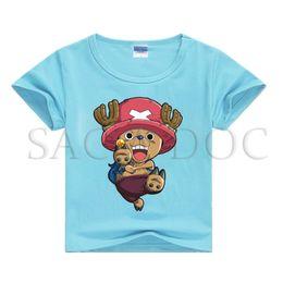 $enCountryForm.capitalKeyWord Australia - Fashion One Piece Luffy Kids Boys Girls T-shirt Tops Children Summer Cute Short Sleeve T-shirt Casual Baby Boys Clothes Costume