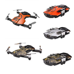 Toy Drones Cameras Australia - Wingsland S6 For Pocket Selfie Drone WiFi FPV 4K UHD Camera Comprehensive Obstacle Avoidance APP Control Foldable RC Quadcopter
