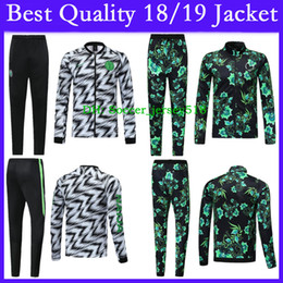 6e0c79f0932 Free Shipping World Cup Nigeria Soccer Jersey Training Suit 18 19 Nigeria  Jacket Chandal Long Sleeve Jacket Kits Maillots De Football