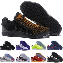 f2478eac4c6 High Quality Kobe 11 Elite Mens casual shoes Kobe 11 Red Horse Oreo shoes  KB 11 designer With Shoes Box 2