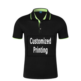 $enCountryForm.capitalKeyWord UK - Men Women Polo Shirts Custom Printing Short Sleeve Shirts Plus Size Polo Shirt Clothing for Man Brand Design Free Shipping