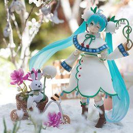 "$enCountryForm.capitalKeyWord Australia - 2019 Anime Snow Hatsune Miku Figma 024 Bell ver. PVC 14cm Action Figure Collectible 6"" Model Toy model figurine doll Brinquedos"