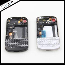 $enCountryForm.capitalKeyWord Australia - Q10 New OEM Good Quality Full Housing Back Battery Case Cover + Keypad For Blackberry Q10 Black and