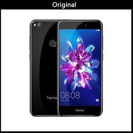 English Id Card NZ - Original Huawei Honor 8 Lite 4GB 64GB Global Firmware Mobile Phone Kirin 655 Dual SIM Card 12.0MP Camera 3000mAh Fingerprint ID