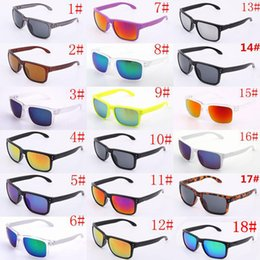 Styrene glaSS online shopping - BRAND Sunglasses UV400 Protection Sport O Sunglasses Men Women Unisex Summer Shade Eyewear Outdoor Cycling Sun Glass colors