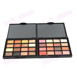 wholesale cheap eyeshadow palettes UK - 16 color cheap eye shadow palette dark color low moq private label palette custom eyeshadow palette