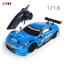 Radio Control Metal Toy Car Australia - RC Car For GTR Lexus 4WD Drift Racing Car Championship 2.4G Off Road Rockstar Radio Remote Control Vehicle Electronic Hobby Toys