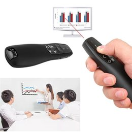 wireless powerpoint presenter pointer Australia - Wireless RF 2.4Ghz USB Wireless Presenter Red Laser Pointer PPT Remote Control for Powerpoint Presentation