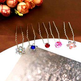 Diamond Forks Australia - Korean version hairdressing trumpet fork, aesthetic tray hairpin, diamond pearl accessories