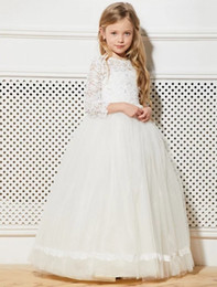 party kids special occasion dresses NZ - New Charming Special Occasion Dress Pincess Pageant Flower Girl Dresses Wedding Party Dress Kids Gown Children Dress GHA13