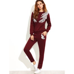 Long Sleeve Casual Print Sweater Women Sports Wear for Women Sexy Jogging  Suits Licras Deportivas Mujer Larga Tracksuit Female  349271 adaa95842