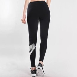 Wholesale ladies sports clothes resale online – High Waist Designer Women Yoga Pants Sports Gym Clothing Brand Leggings Joggings Trousers Elastic Fitness Lady Overall Full Tights K