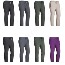 face leggings NZ - The North Unisex Quick-dry pants Men Women Hiking Sweatpants NF Brand High Elastic Pants Face Waterproof Breathable Outdoor Leggings C82301