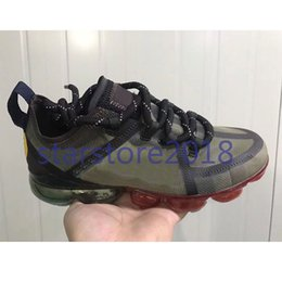 Wholesale 2019 CPFM CACTUS PLANT FLEA MARKET men running shoes top quality smile face brand black mens trainers fashion sports sneakers with box