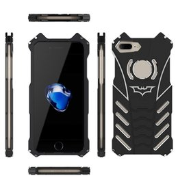 iphone 5c aluminum cases Australia - BATMAN Series Luxury Doom Heavy Duty Armor Metal Aluminum Mobile Phone Cases For iPhone X 8 7 6 5 5S SE 5C 6S PLUS Bags