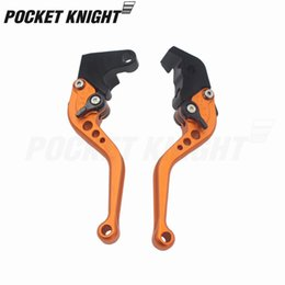 short brake clutch levers for motorcycles NZ - Short Long Brake Clutch Levers For 690 Enduro 07-08, 690 Enduro R 09-13, 950 SUPER R 06-09 Motorcycle Adjustable CNC