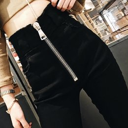 $enCountryForm.capitalKeyWord Australia - 2019 Spring Jeans Woman Denim Push Up High Waist Jeans Femme Streetwear Zipper Fly Skinny Woman Winter Pencil Pants Ladies