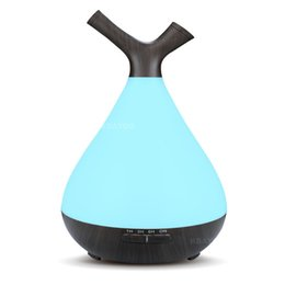 electric aromatherapy diffuser light UK - 400ML USB Aroma Essential oil diffuser Ultrasonic Air electric Humidifier air humidifier aromatherapy LED light home mist maker