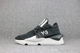 dcaba6dd79af 2018 Y-3 QASA RACER Vista Grey Sneakers Breathable Men Women Running Shoes  Couples Prophere Climacool Y3 ELLE STRETCH SAND Outdoor Trainers