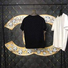 $enCountryForm.capitalKeyWord Australia - Spring Summer 2019 new Europe France Paris High Quality Allover Dim Shadow Print Tshirt Fashion Men Women T Shirt Casual Cotton Tee