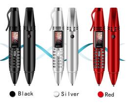 "$enCountryForm.capitalKeyWord Australia - SERVO K07 Pen mini Cellphone 0.96"" Tiny Screen GSM Dual SIM Camera Flashlight Bluetooth Dialer Mobile Phones with Recording pen"