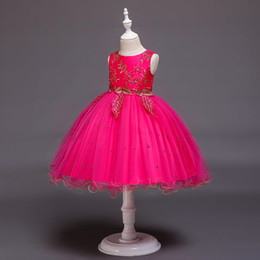 $enCountryForm.capitalKeyWord Australia - Girls 3 to 12 years summer ball grown dresses, tutu tulle party clothes, kids & teenager boutique clothing, 5AAX808DS-31