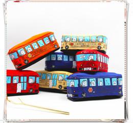 $enCountryForm.capitalKeyWord Australia - 40 PCS Cute Canvas Zipper school supplies Pencil Pen Pouch Bags for Kids
