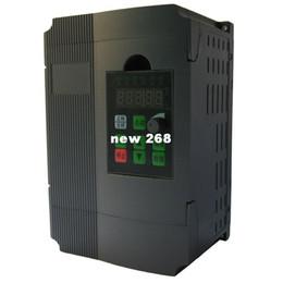 Single Phases UK - Freeshipping 1 Pcs 1.5kw inverter simple single phase frequency converter 3-phase 220v 380v motor speed controller free post